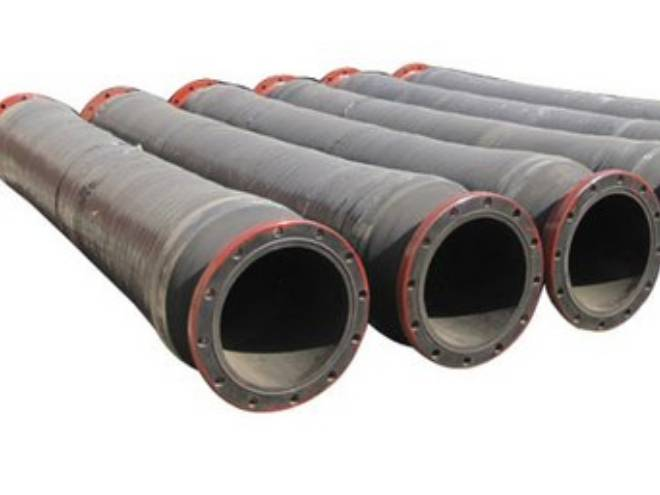 "Dredge Sleeve for Dredging Applications. 3/8"" SBR Tube, 150 psi, I.D. 4"" to 18"""